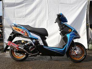 改裝秀-藍騎士猛牛王KYMCO RACING S